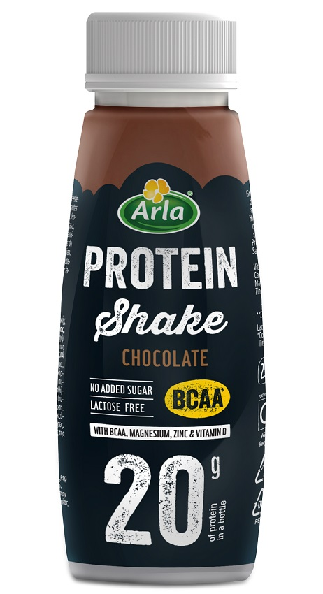 Ρόφημα Milk Shake Chocolate BCAA Protein Arla (250 ml)