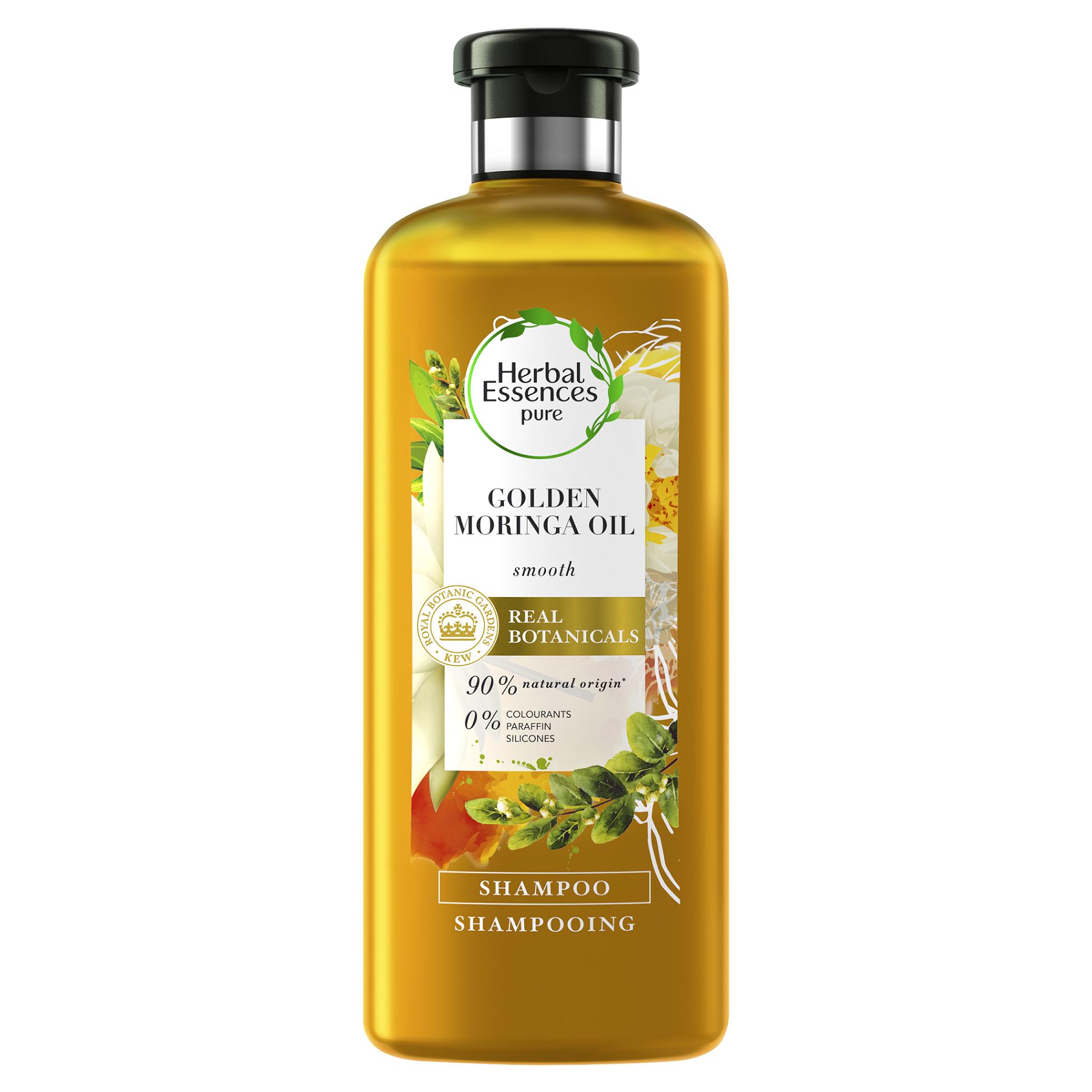 Σαμπουάν για Απαλά Μαλλιά Golden Moringa Oil Herbal Essences (400 ml) 1+1 Δώρο