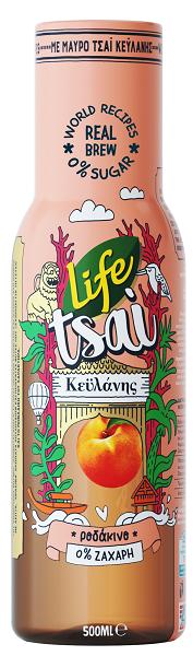 Ice tea Ροδάκινο Life Tsai (500 ml)