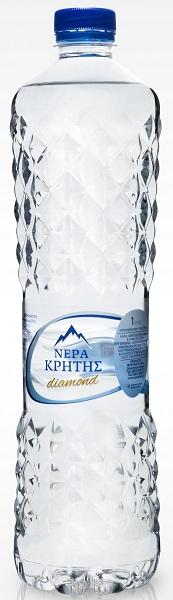 Εμφιαλωμένο Νερό Diamond Edition Νερά Κρήτης (1 L)