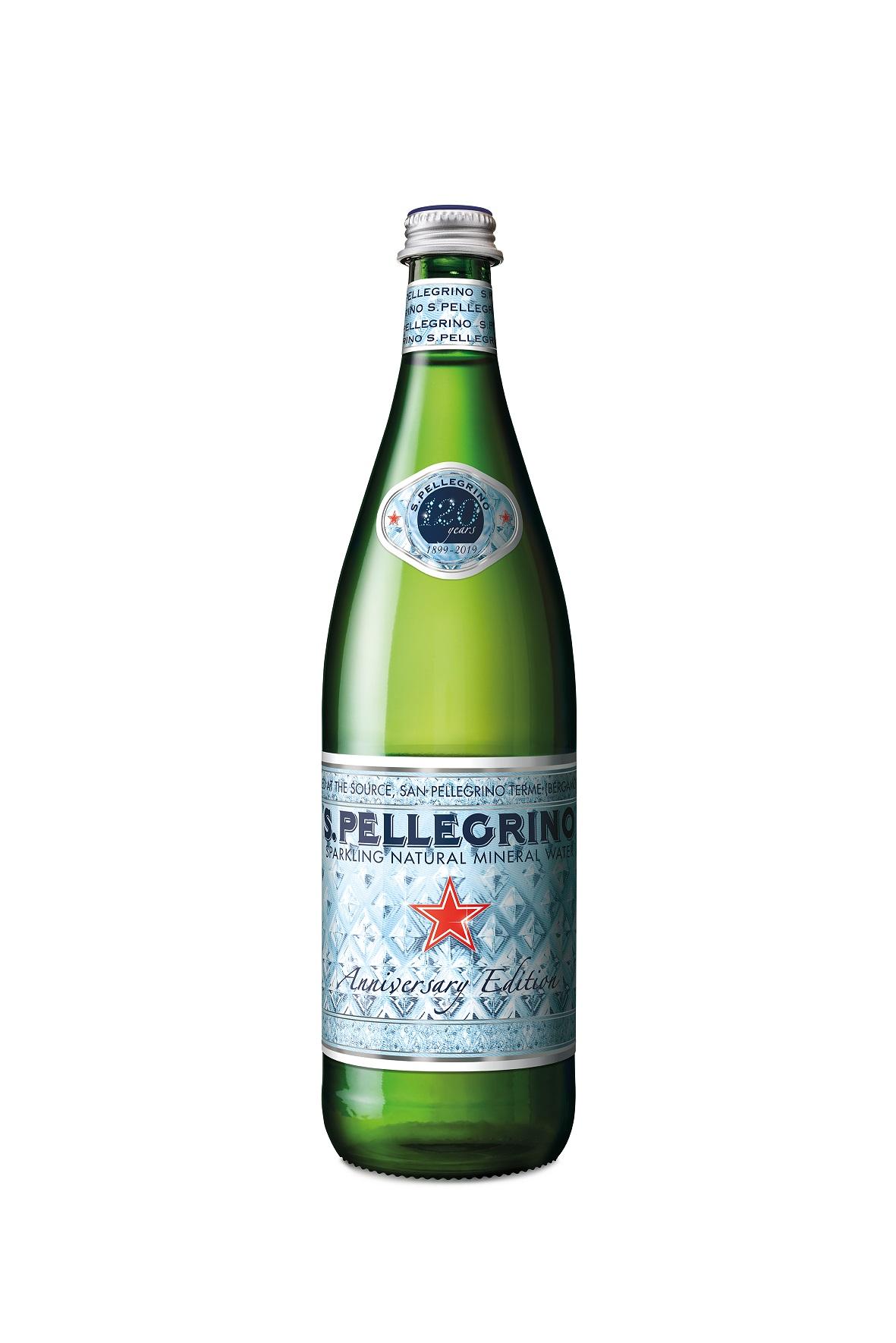 Νερό Φυσικό Μεταλλικό Ανθρακούχο San Pellegrino (750 ml)