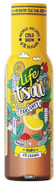 Ice tea Λεμόνι Life Tsai (500 ml)