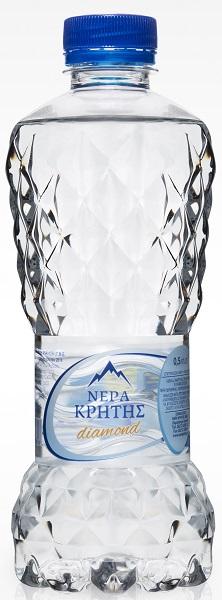 Εμφιαλωμένο Νερό Diamond Edition Νερά Κρήτης (500 ml)