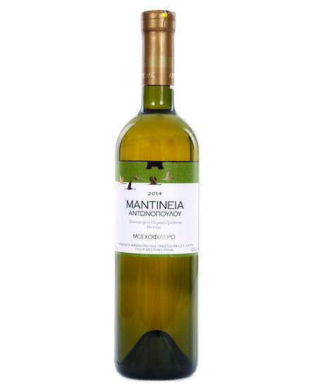 Οίνος Λευκός Μαντίνεια ΠΟΠ Αντωνόπουλος (750 ml)