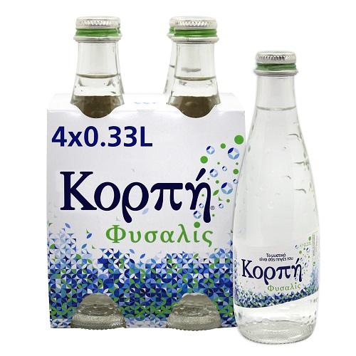 Νερό Φυσικό Μεταλλικό Ανθρακούχο Κορπή Φυσαλίς (4x330 ml)