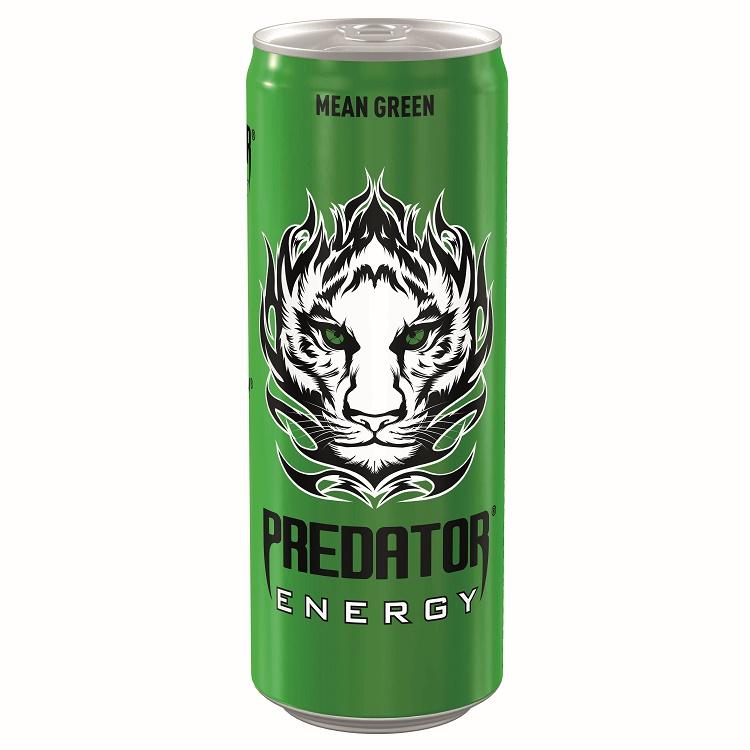 Ενεργειακό Ποτό Mean Green Predator (250 ml)