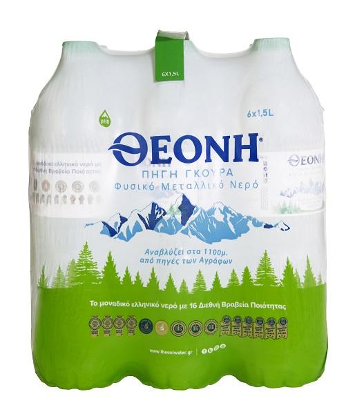 Νερό Φυσικό Μεταλλικό Θεόνη (6x1,5 Lt)