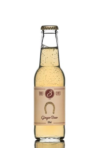 Αναψυκτικό Ginger Beer Three Cents (200 ml)
