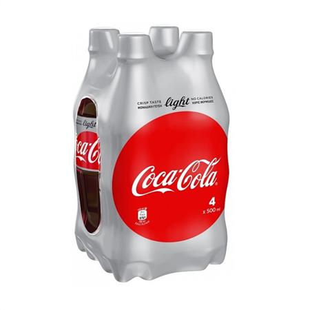 Coca-Cola Light (4x500 ml) 3+1 Δώρο