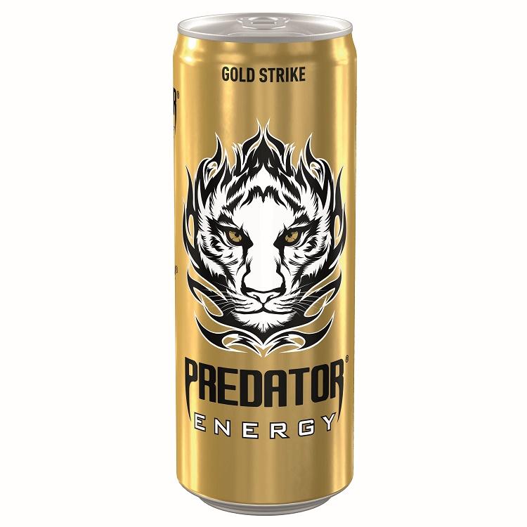 Ενεργειακό Ποτό Gold Strike Predator (250 ml)