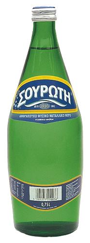 Νερό Φυσικό Μεταλλικό Ανθρακούχο Σουρωτή (750 ml)