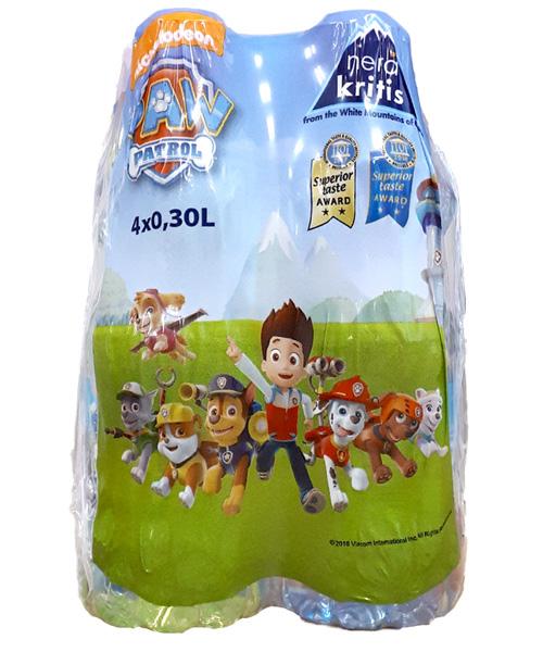 Εμφιαλωμένο Νερό Paw Patrol Νερά Κρήτης (4X330 ml)