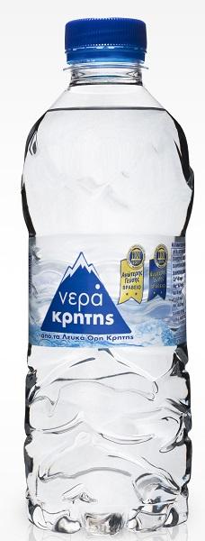 Εμφιαλωμένο Νερό Pet Νερά Κρήτης (500 ml)