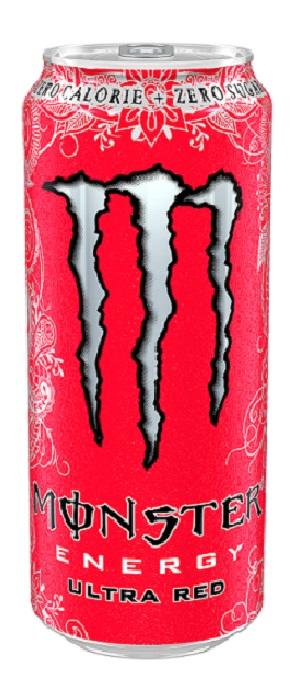 Ενεργειακό Ποτό Ultra Red Monster Energy (500 ml)