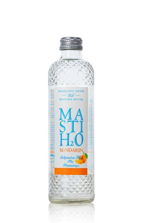 Ανθρακούχο Νερό με Γεύση Μαστίχα και Μανταρίνι MastiH2O (330 ml)