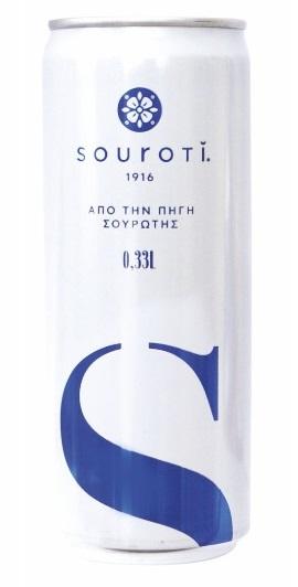 Νερό Φυσικό Μεταλλικό Ανθρακούχο Σουρωτή (330 ml)