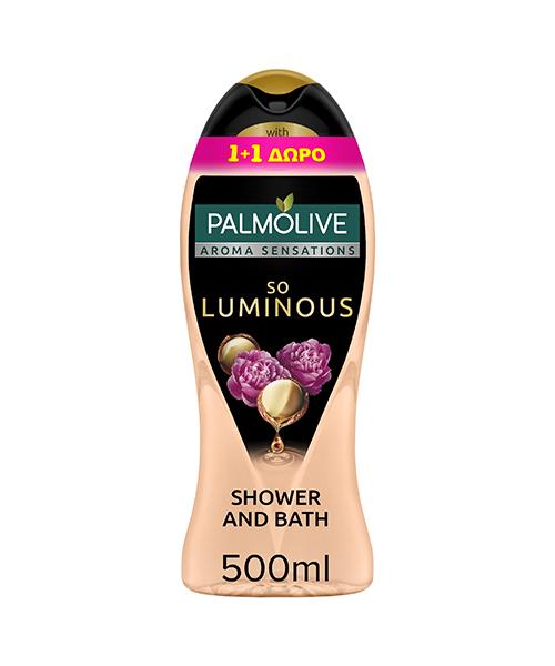 Αφρόλουτρο So Luminous Sensations Palmolive (500 ml) 1+1 Δώρο