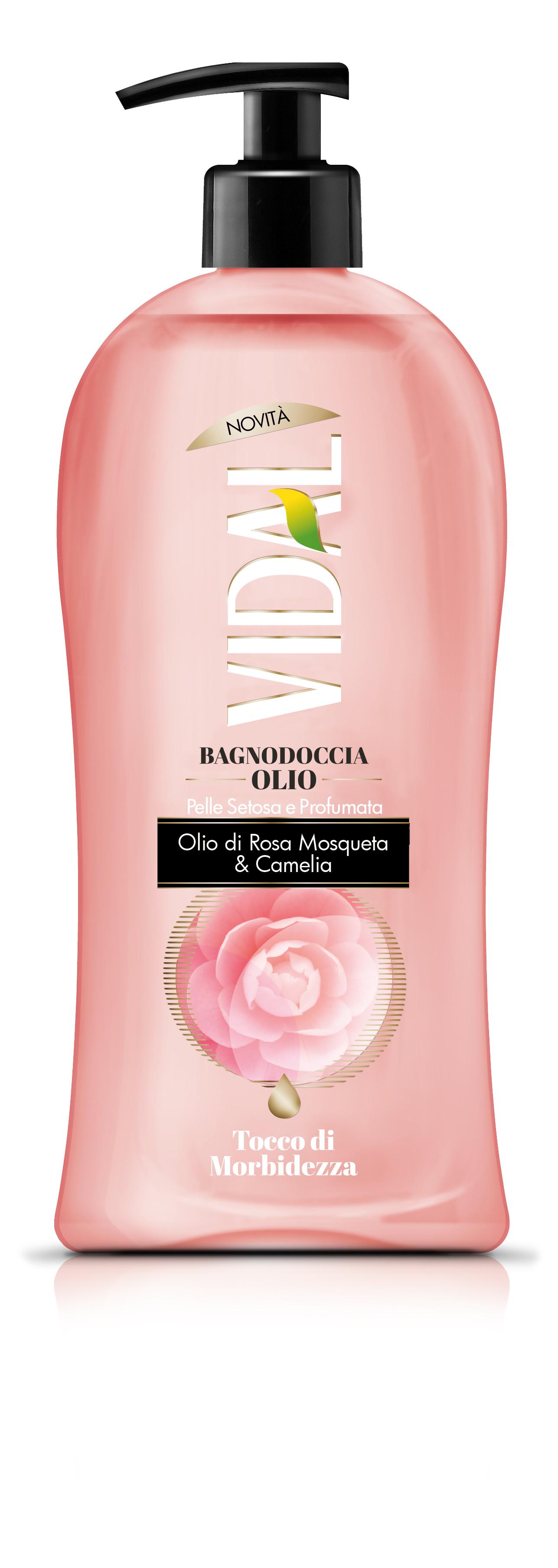 Αφρόλουτρο Rosa Mosqueta & Camelia Vidal (500 ml)