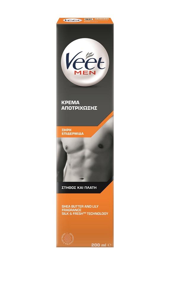 Αποτριχωτική Κρέμα για Άνδρες για Κανονική Επιδερμίδα Veet (200ml)