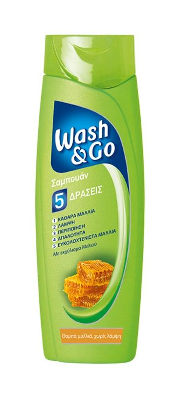 Σαμπουάν για Θαμπά Wash & Go (400 ml) 1+1