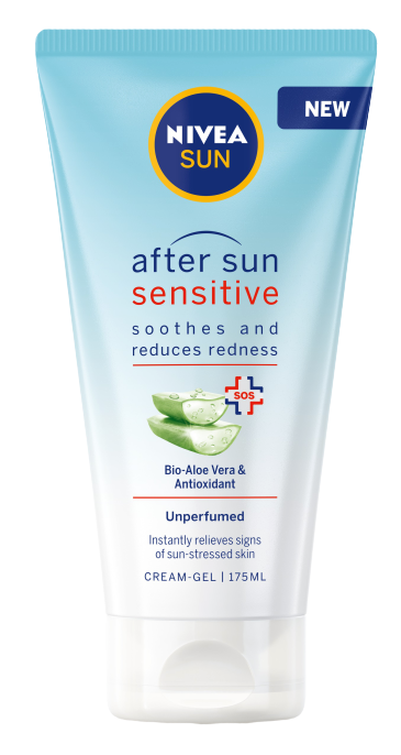 Κρέμα Σώματος After Sun Sensitive Lotion Nivea Sun (175ml)