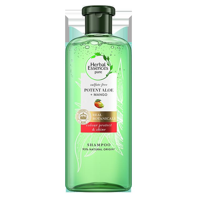 Σαμπουάν Καθαρισμού Αλόη & Μάνγκο Herbal Essence Pure (2x380ml)1+1 Δώρο
