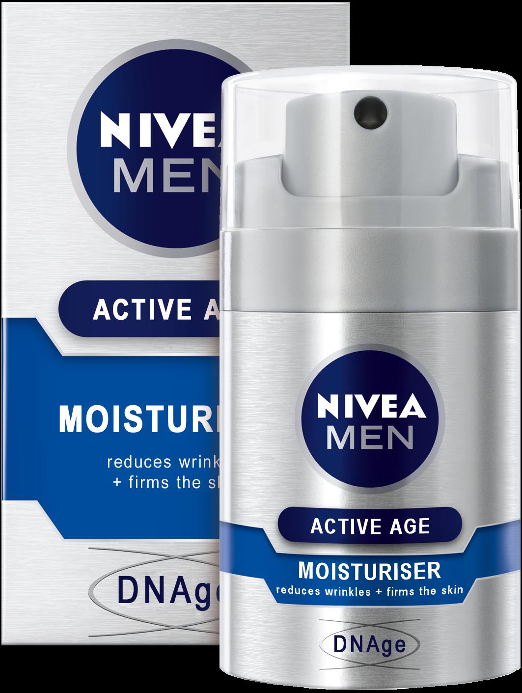 Κρέμα Αντιγήρανσης για Άνδρες DNAge Nivea Men (50 ml)