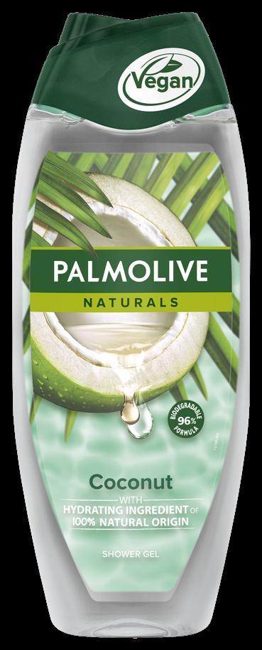 Αφρόλουτρο Coconut Naturals Palmolive (500 ml) 1+1 Δώρο