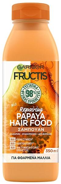 Σαμπουάν Papaya Hair Food Fructis (350ml)
