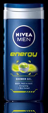 Shower Gel για Άνδρες Energy Nivea Men (500 ml)