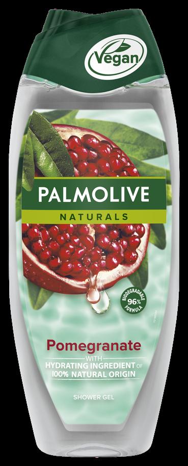 Αφρόλουτρο Ρόδι Naturals Palmolive (500 ml) 1+1 Δώρο