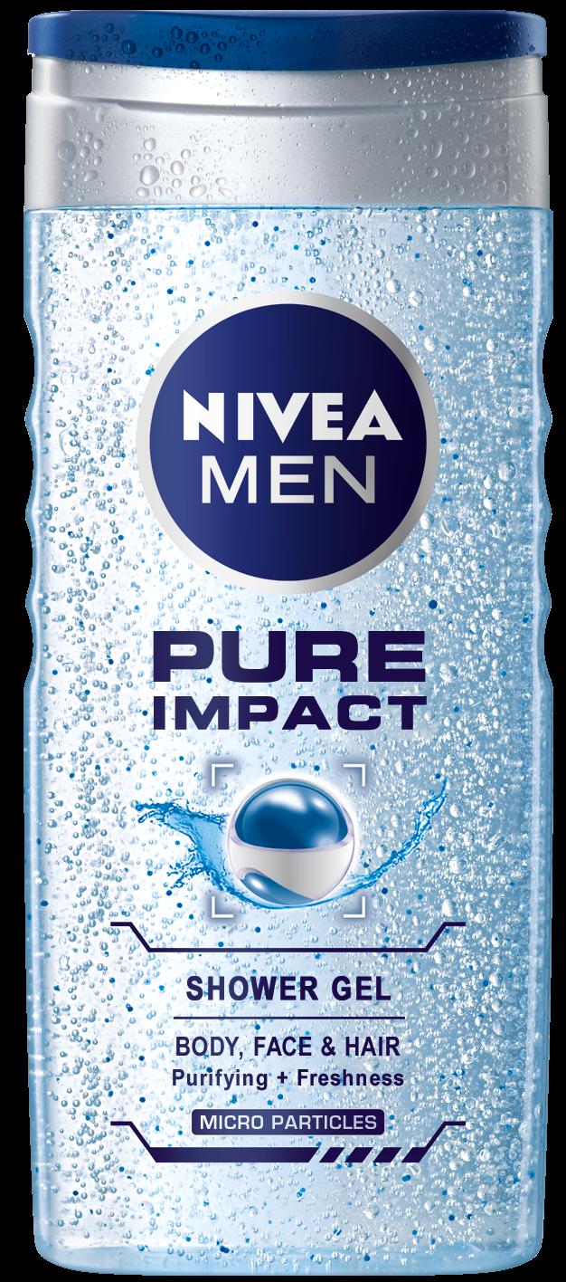 Shower Gel για Άνδρες Pure Impact Nivea Men (500 ml)