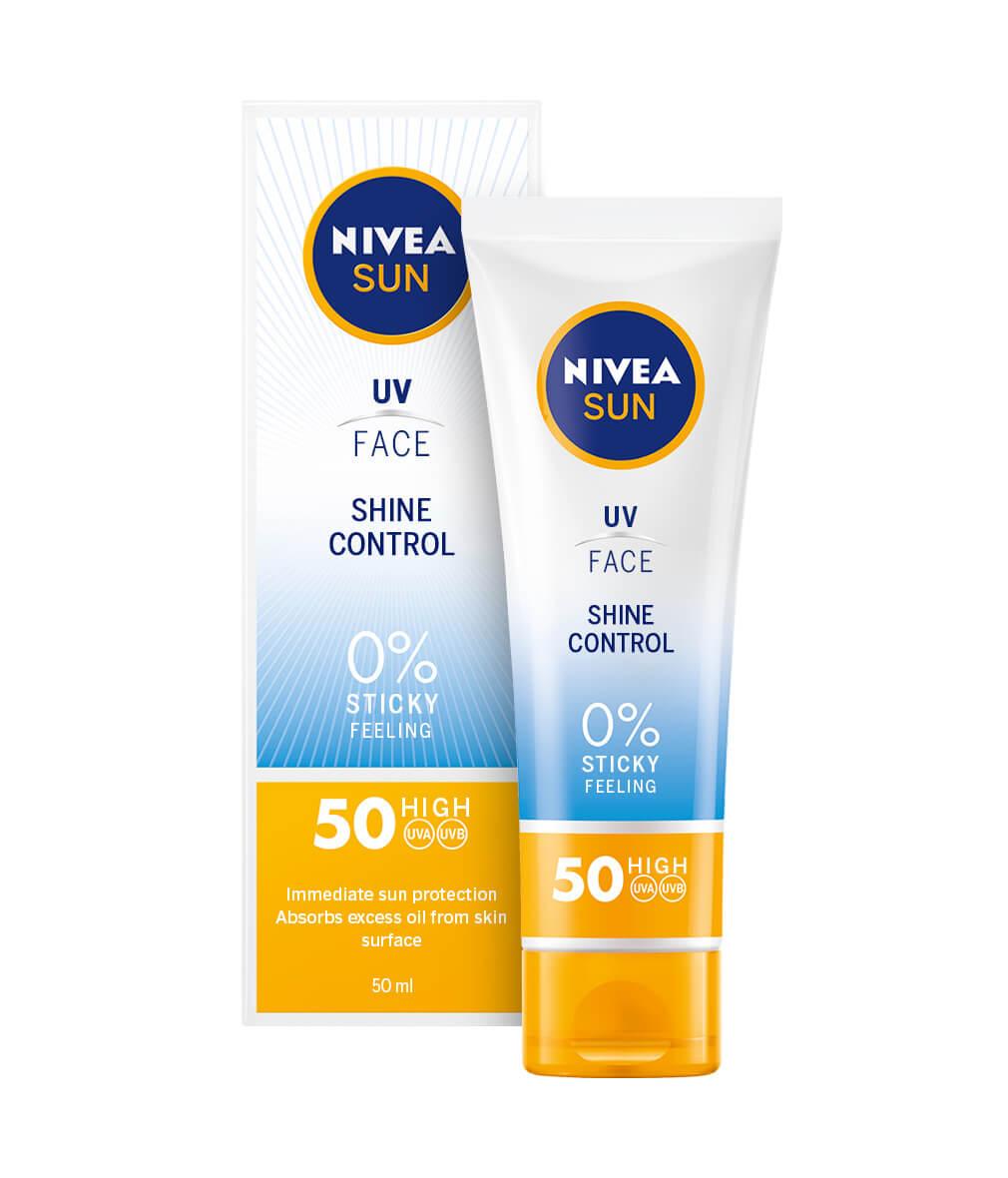 Αντηλιακή Κρέμα Προσώπου Mat Look SPF 50 Nivea Sun (50 ml)