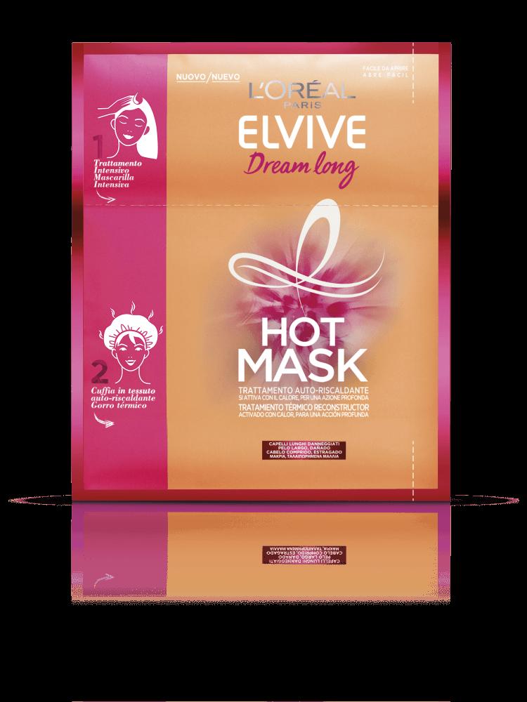 Μάσκα Θερμότητας Μακριά & Ταλαιπωρημένα Μαλλιά Dream Long Elvive L'oreal (20 ml)