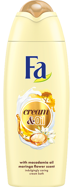Αφρόλουτρο Cream & Oil Macadamia Fa (750ml)
