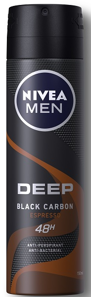 Ανδρικό Αποσμητικό Spray Deep Espresso Nivea Men Deo (150ml)