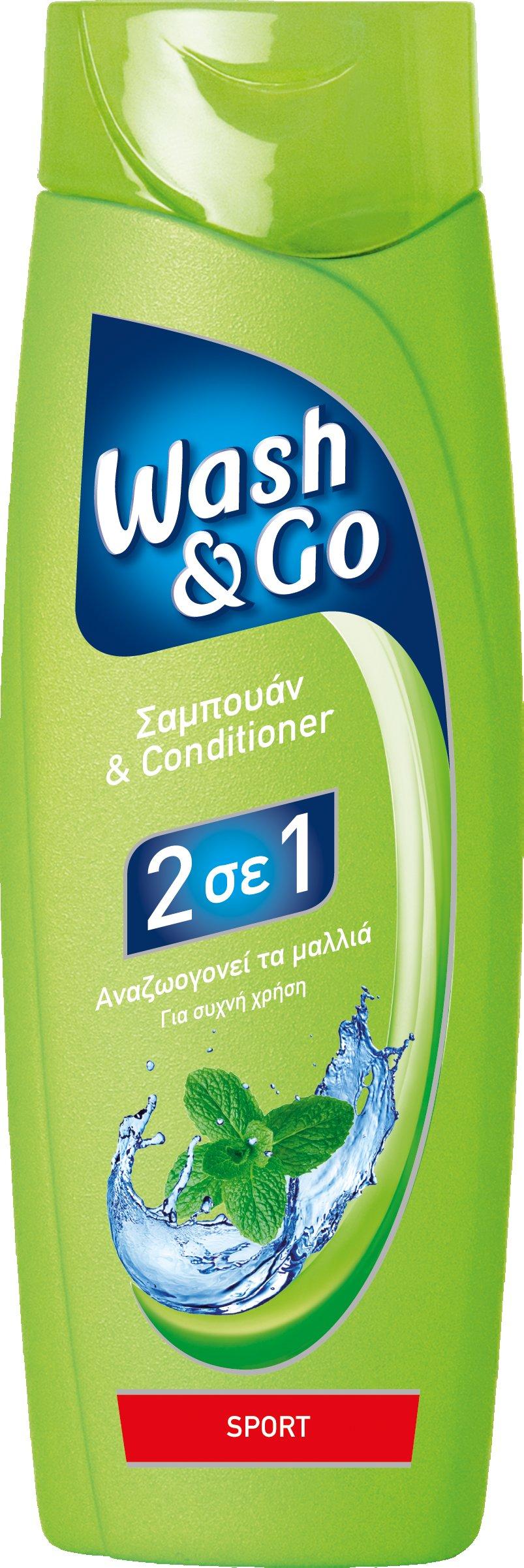 Σαμπουάν Sport Wash & Go (400 ml) 1+1