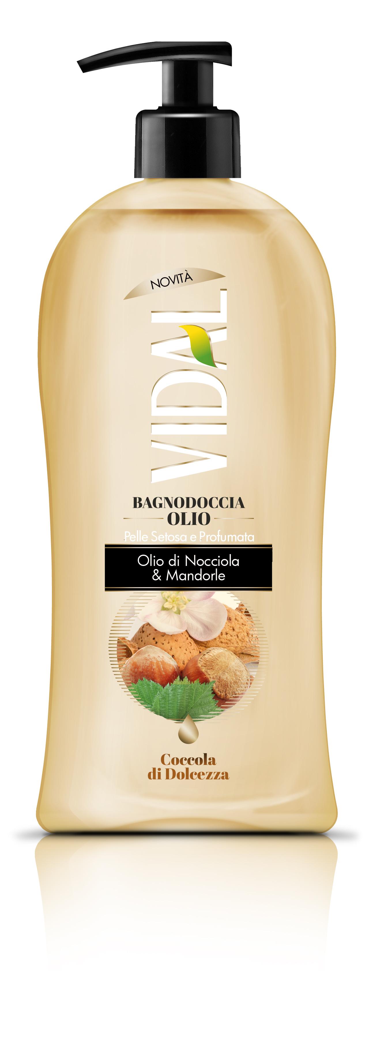 Αφρόλουτρο Hazelnut & Almond Oil Vidal (500 ml)