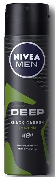 Ανδρικό Αποσμητικό Spray Deep Amazonia Nivea Men Deo (150ml)