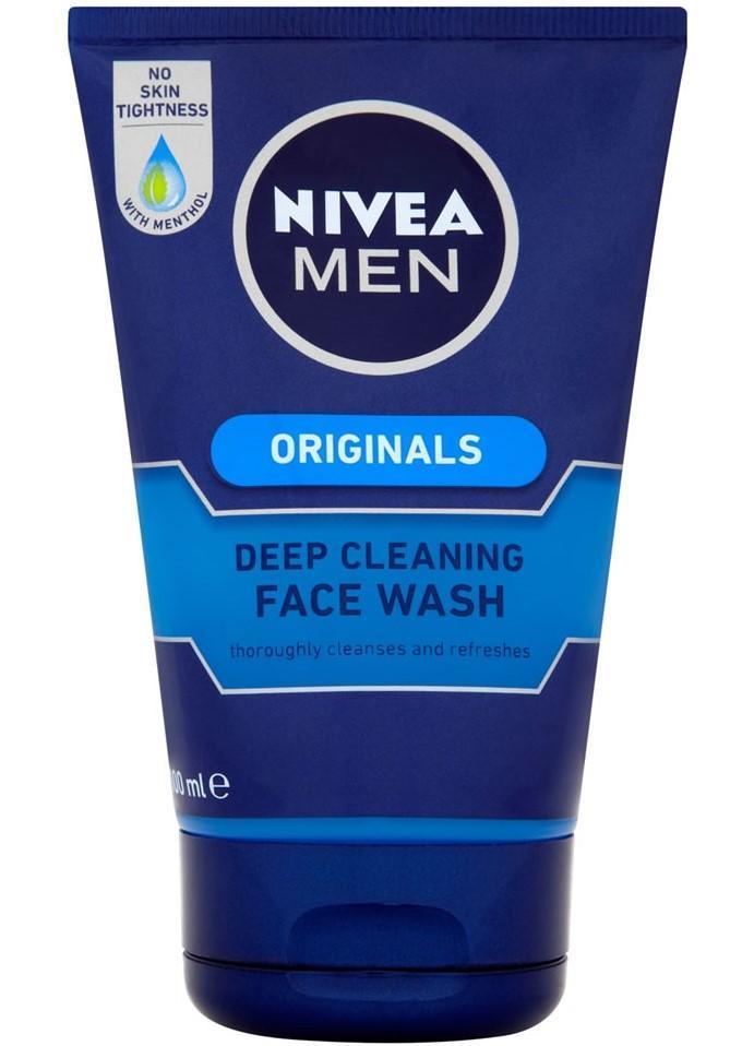 Gel Καθαρισμού Προσώπου Deep Cleaning Nivea Men (100 ml)