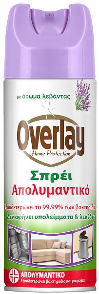 Απολυμαντικό Σπρέι με Άρωμα Λεβάντας Overlay (300ml)