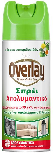 Απολυμαντικό Σπρέι με Άρωμα Εσπεριδοειδών Overlay (300ml)