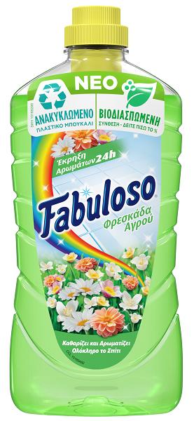 Υγρό Καθαριστικό Φρεσκάδα του Αγρού Fabuloso (1lt)