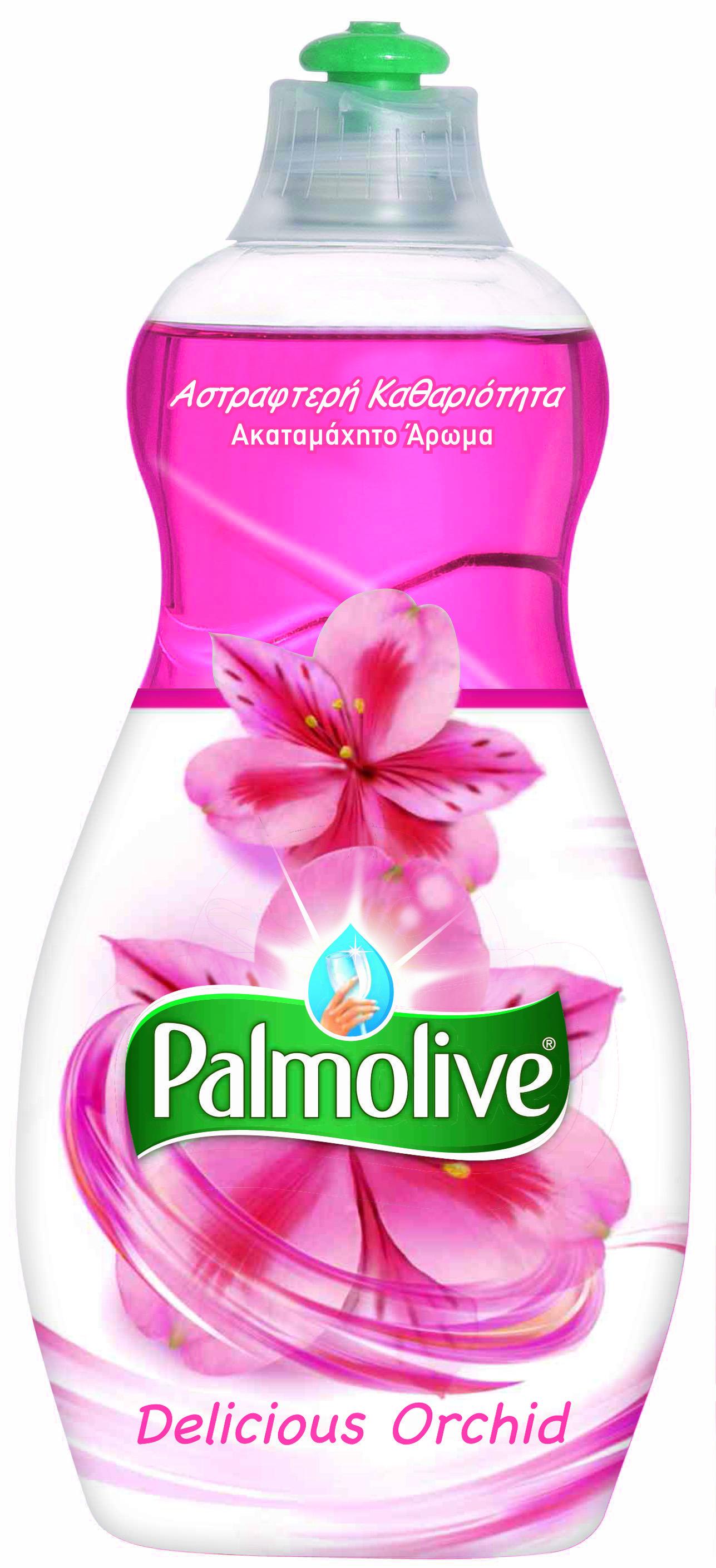Υγρό Πιάτων Delicious Orchid Palmolive (500ml)