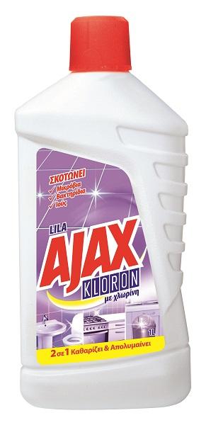 Καθαριστικό Πατώματος Lila Kloron Ajax (1lt)