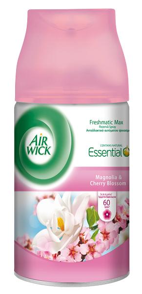 Ανταλλακτικό Αρωματικό Χώρου Freshmatic Magnolia Cherry Blossom Airwick (6X250 Ml) Τα 6Τεμ 19,98€