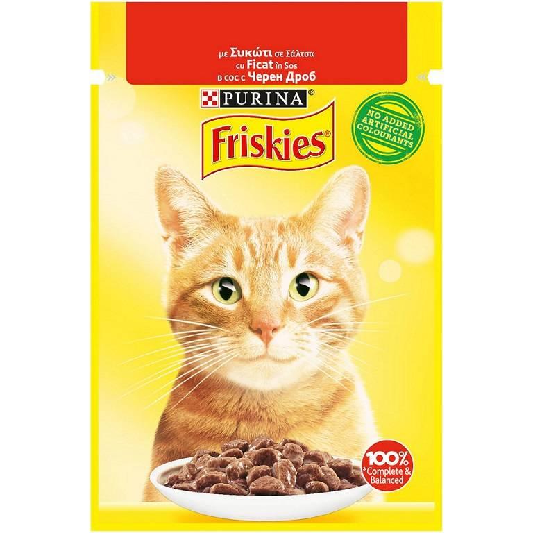 Τροφή για Γάτες με Συκώτι σε σάλτσα Friskies (85 g)