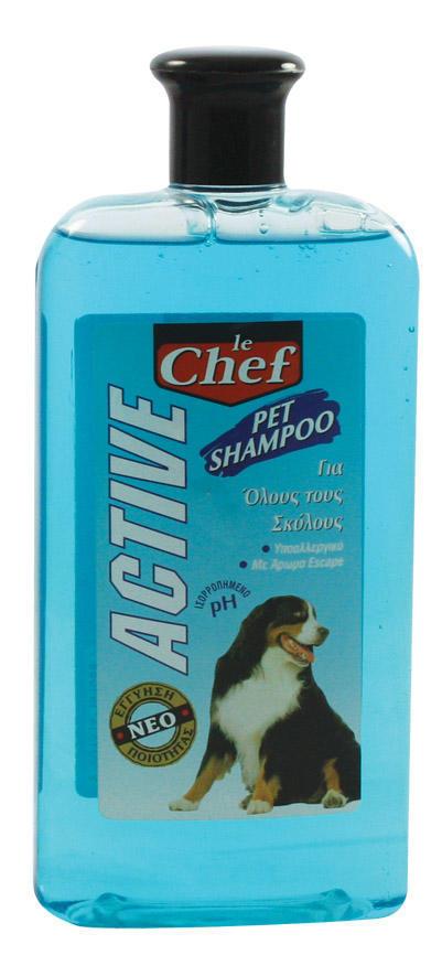 Σαμπουάν για Όλους τους Σκύλους Le Chef (500 ml) -0,40€