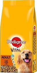 Ξηρά Τροφή για σκύλους Adult με Πουλερικά Pedigree (3 Κg)