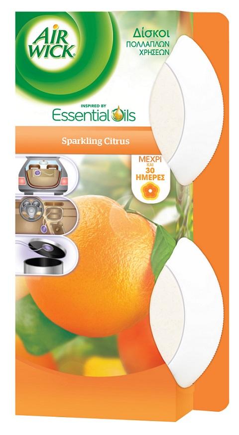 Αρωματικό μικρών χώρων Stick-up Citrus Airwick (2 τεμ)